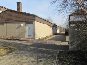 Tanzhalle, Eingangsbereich in Frankenthal - Studernheim