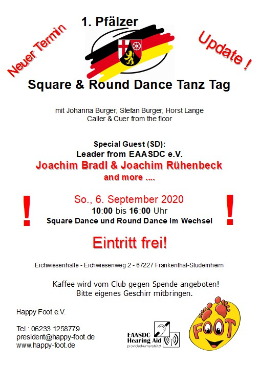 1. Pfälzer Square and Round Dance Tanz Tag